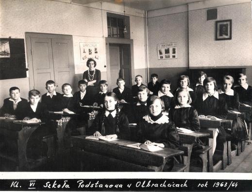 klasa VI rocznik 1963-64